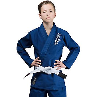 Venum lasten Contender Brasilian Jiu-Jitsu GI-sininen