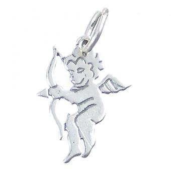 Cupid Sterling Silver Charm .925 X 1 Love Archer Loving Charms - 4050