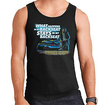 Knight Rider What Happens In My Backseat Stays In My Backseat Men's Vest