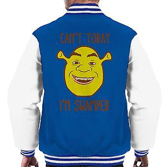 Shrek Cant Vandaag Im Swamped Men's Varsity Jacket