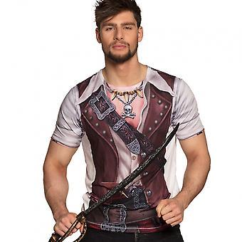 Shirt Pirate Man Men's Polyester