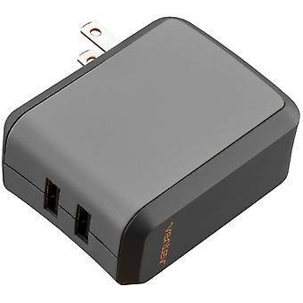 Ventev wallport r2240, USB-väggladdare med dubbla portar (2,4A) med kabel