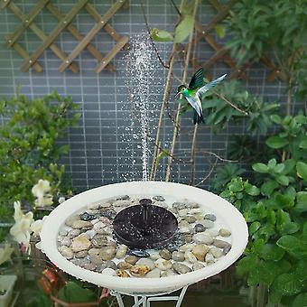 Solar Fountain Watering Solar Floating Bird Bath Water Panel Pump Garden Pond