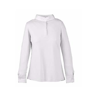 Dublin Longmoor Ladies Show Shirt - White