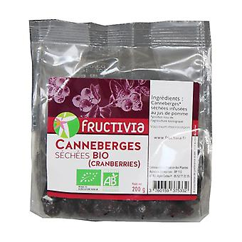 Whole dried organic blueberries 200g