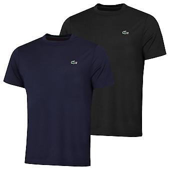 T-shirt Piqué lacoste mens 2021 sport traspirante ultra-dry run resistente