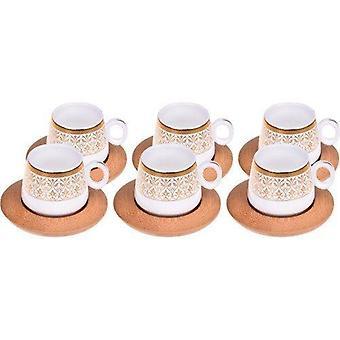 Traditionelle Kaffeetasse Set