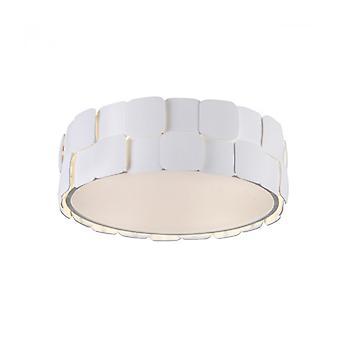 Lámpara De Techo Moderna Elisa Blanco
