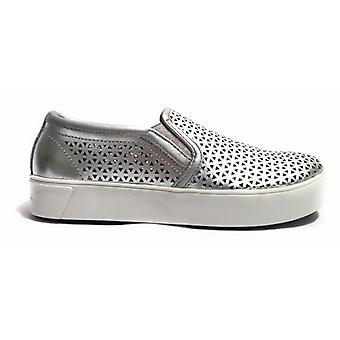 Shoes Women's Apepazza Sneaker Slipon Laserato Silver Mod Drew Ds17ap18