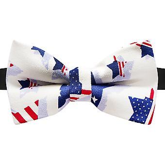 Estrellas de EE.UU. & Rayas Diseño Pajarita