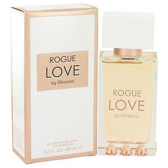 Rihanna Rogue Love Eau De Parfum Spray By Rihanna 4.2 oz Eau De Parfum Spray