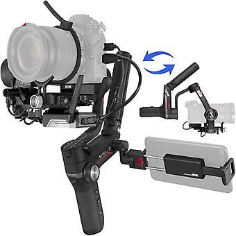 Gimbal-stabilointiaine Dslr: lle ja peilittömälle kameralle