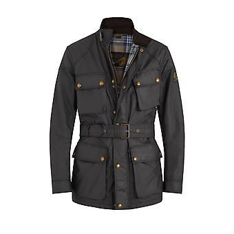 Belstaff Trialmaster Waxed Jacket Black