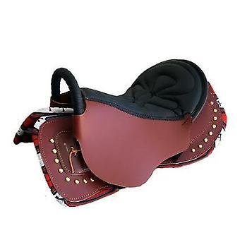 Armlæn Pure Læder Saddle Komplet Sæt