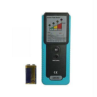 Automotive brake fluid tester oil moisture water detection with high-precision probe led indicator