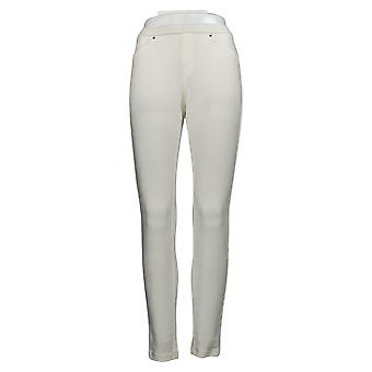 Hue Women's Pants Corduroy Jean Legging White 715371