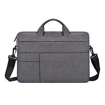 Anki Carrying Case with Strap for Macbook Air Pro - 15 inch - Laptop Sleeve Case Cover Gray