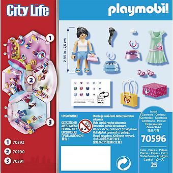 Playmobil City Life Fashion Shopping Voyage