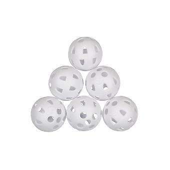 Masters Airflow Practice Pelotas de Golf (Pack of 6)