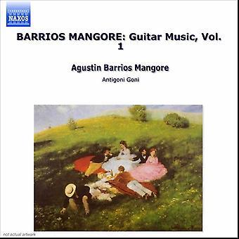 A. Barrios - Barrios: Guitar Music, Vol. 1 [CD] USA import