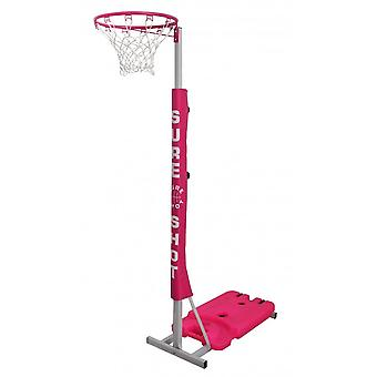 Sure Shot Netball Easiplay Netball Unit In Pink With Padding