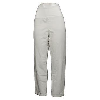 Vrouwen met Control Women's LP Petite Pants Tummy Control White A374340
