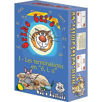 FengChun Cat es Family Kartenspiel, E403, Blau