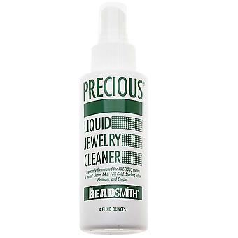 و Beadsmith الثمينة السائل المجوهرات النظيفة - رذاذ على وشطف - 4 أوقية زجاجة