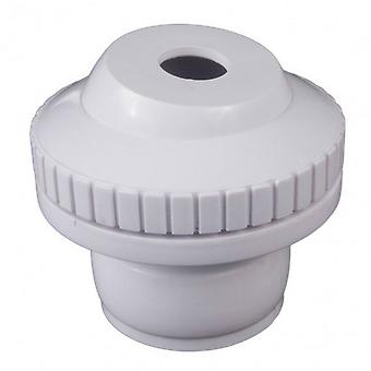 """Custom 25554-200-000 0.5"""" Insider DiRect.ional Flow Outlet - White"""