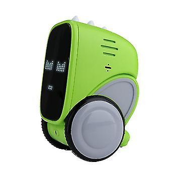 Grønn smart lading bil robot stemmestyring dialog opptak induksjon touch az3161