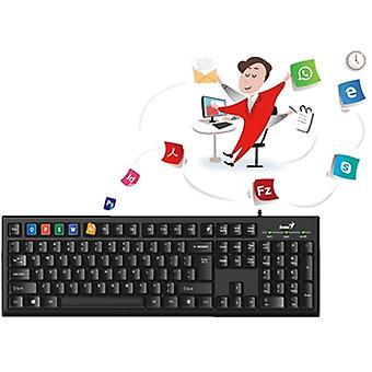 Genius KB-100 USB Smart Keyboard Brittisk Layout