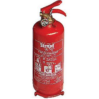 Streetwize Dry Powder ABO Fire Extinguisher with Gauge 2kg