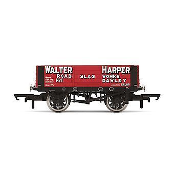 הורנבי 4 פלאנק עגלה 'וולטר הארפר' מס '1 עידן 2 מודל רכבת