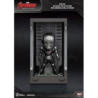 Avengers Age of Ultron Mini Egg Attack Toimintahahmo Haarniskan sotakoneen sali 2,0 8 cm
