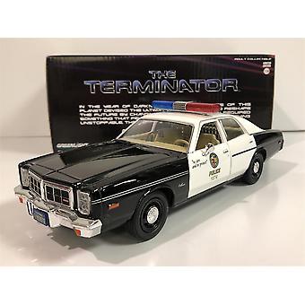 The Terminator 1977 Dodge Monaco 1:24 Scale Greenlight 84101