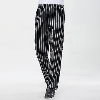 Breathable Cooker Pants Kitchen Elastic Trousers