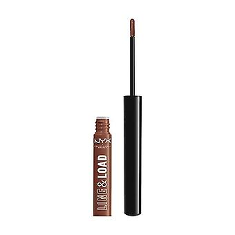 NYX Professional Makeup- Line & Load Two in 1 Lippie- Ride or Die