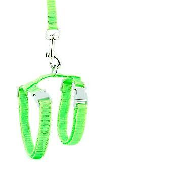 Adjustable Nylon Cat Dog Collar Harness