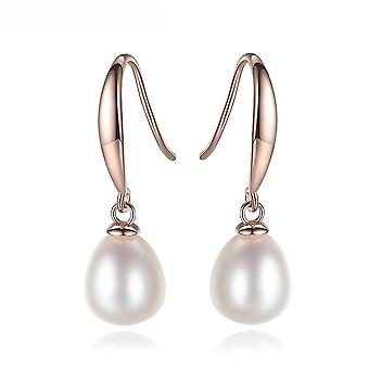 Earrings Multicolored S925 Silver Freshwater Pearl For Exhibition