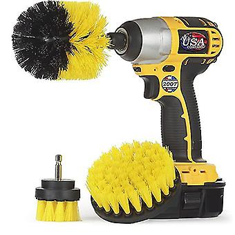 Tile And Grout All Purpose Power Scrubber Cleaning Kit Grout Drill Brush Set