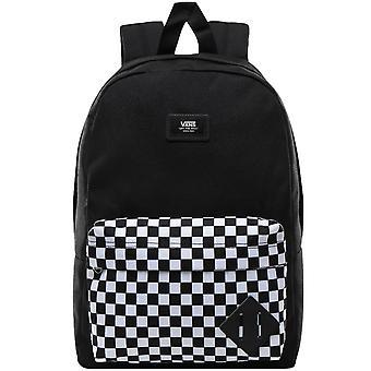 Vans Kids Childrens Youth New Skool School Travel Backpack - Black