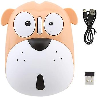 Cute Animal Dog Wireless Mouse