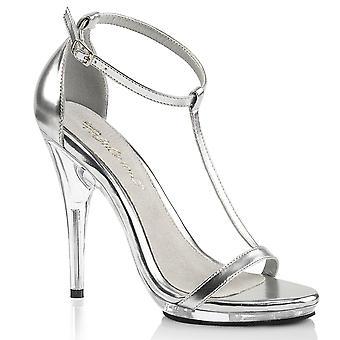 Fabulicious Frauen's Schuhe POISE-526 Slv Met Pu/Clr