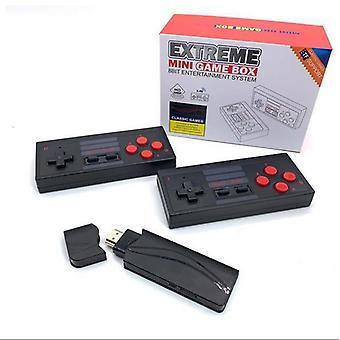 Y2 y2 p videopelikonsoli rakennettu 621 klassikkopelit mini retro konsoli langaton ohjain hdmi-lähtö dual soitin