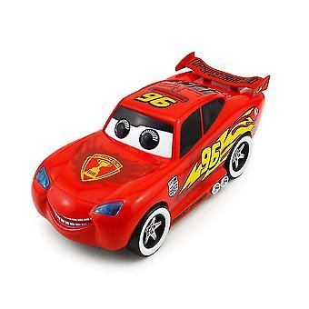 Carros acendendo Mcqueen Piggy Bank Electric Music Car Story Money Bank