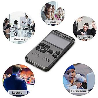Mini Lcd Digital Audio Sound Voice Activated Recorder Usb Dictaphone Mp3 Player