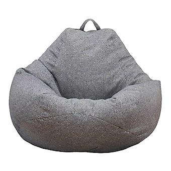 Large Bean Bag Chair Sofa Couch Cover Indoor Lounger No Filling-1