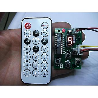 4 regulátor drátu Krokový ovladač motoru - nastavitelná rychlost s dálkovým ovládáním