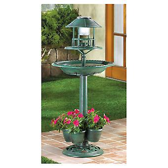 Summerfield Terrace napelemes madárfürdő és ültető, pack of 1