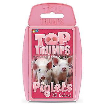 Card games top trumps piglets